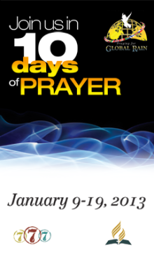 10 Days of Prayer 2013 Web Ad 240x400