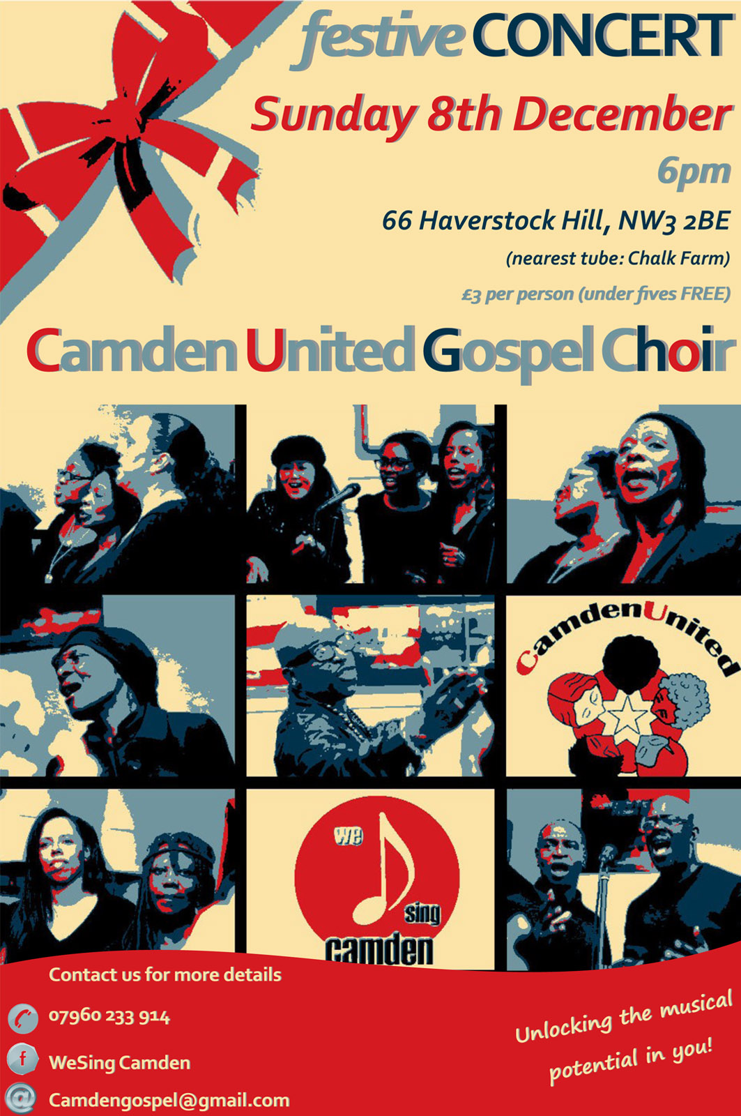 Camden United Gospel Choir Christmas Concert – Hampstead Seventh ...
